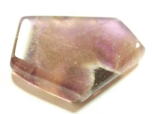 A GRADE AURALITE 23 POLISHED SLICE - 3.4 x 2.6 cms 11.14 gms  #607 Canada